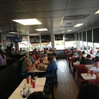 Photo taken at New York Diner & Bagel by Randy G. on 3/17/2013