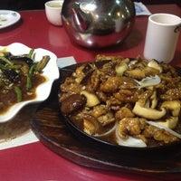 Photo taken at 绿茶餐厅 Green Tea Restaurant (崇文门店) by Ludmila S. on 1/3/2014
