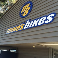Photo taken at Mike's Bikes of Sausalito by Steven B. on 11/1/2014
