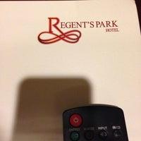 Photo taken at Regent's Park Hotel by Rayyan B. on 8/17/2014