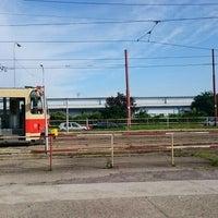 Photo taken at Komisárky (tram) by Matúš M. on 5/23/2016