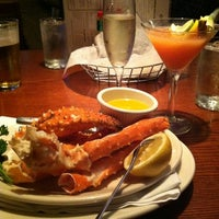 Photo taken at Shaw's Crab House by Margaret G. on 9/23/2012