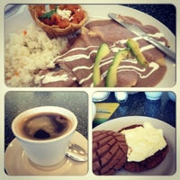 Photo taken at Los Bisquets Bisquets Obregón by Jennifer M. on 11/25/2012