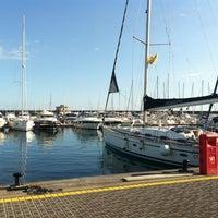 Photo taken at Porto dell'Etna - Marina di Riposto by Benedetta G. on 1/13/2013