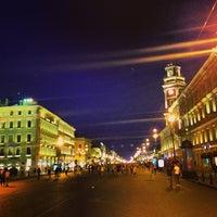 Снимок сделан в Невский проспект пользователем Alina M. 7/13/2013