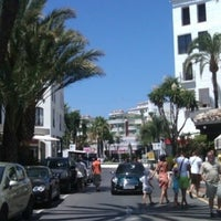 Photo taken at Puerto Banús by Doni T. on 6/16/2013
