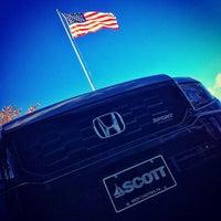 Photo taken at Scott Honda by Scott H. on 11/6/2012