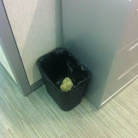 Photo taken at Garbage Can by Printer on fourth Floor southeast by Rafael L. on 2/14/2013