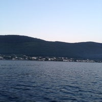 Photo taken at my sea by Gürkan T. on 5/18/2014