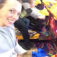Photo taken at Big Top Arcade by Ashlee C. on 3/16/2014