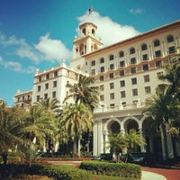 Photo taken at The Breakers Palm Beach by Loren S. on 2/9/2013