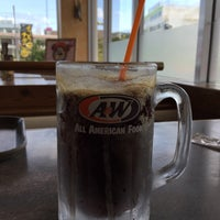 Photo taken at A&W 屋宜原店 by Keisuke H. on 3/22/2018