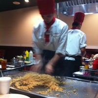 Photo taken at Fujiyama Seafood & Steak by Jasaline G. on 10/13/2012