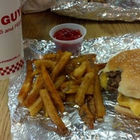 Photo taken at Five Guys by Charles W. on 2/20/2014