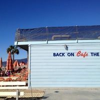 Photo taken at Back on the Beach Cafe by Emilie B. on 12/20/2012