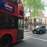 Photo taken at Shaftesbury Avenue by Elif A. on 5/21/2016