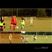 Photo taken at Starkville Soccer Complex by Lisa M. on 9/24/2012