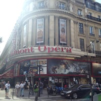 Photo taken at Gaumont Opéra (côté Capucines) by Christophe on 7/28/2013