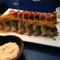 Photo taken at Omi Sushi by Aaron P. on 4/28/2013