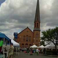 Photo taken at Hudson Farmers Market by MB Noble on 7/6/2013
