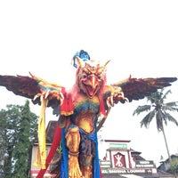 Photo taken at Lapangan Astina by Nana N. on 4/3/2014