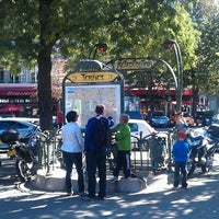 Photo taken at Place des Ternes by Jep T. on 9/30/2012