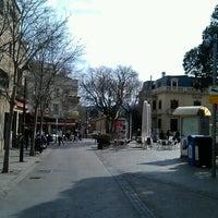 Photo taken at Plaça de l'Estació de Sant Cugat by Jep T. on 2/10/2013