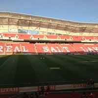 Photo taken at Rio Tinto Stadium by Sharlene C. on 7/21/2013