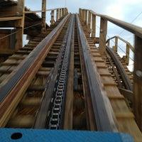 Photo taken at Coaster Thrill Ride - Washington State Fair by Larry N. on 9/7/2013