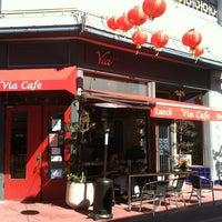 Photo taken at Via Café by Murphy P. on 2/24/2013