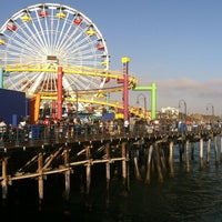 Photo taken at Santa Monica Pier by Murphy P. on 6/15/2013