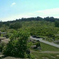 Photo taken at Gettysburg Story Auto Tour Stop 16 - National Cemetery by Katherine J. on 6/9/2015