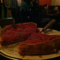 Photo taken at Patxi's Pizza by Mathew R. on 3/17/2013