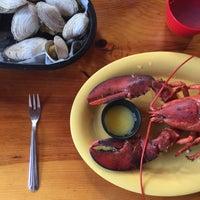 Photo taken at Lobster Shack by Jet L. on 7/9/2015