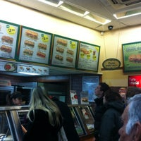 Photo taken at Subway by Stella K. on 1/17/2013