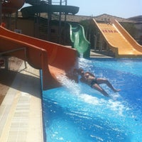 Photo taken at Club Nena Aqua Park by Katarina on 5/5/2013