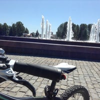 Photo taken at Фонтаны by Алена А. on 7/14/2014