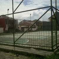 Photo taken at Lapangan Tennis Margaasih by Nino C. on 11/20/2012