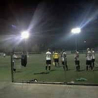 Photo taken at Griffith Park - Artificial Turf Soccer Field by Anouar B. on 10/9/2013