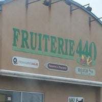 Photo taken at Fruiterie 440 by Talel A. on 12/1/2013