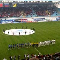 Photo taken at Arena Khimki by Natalia on 5/4/2013