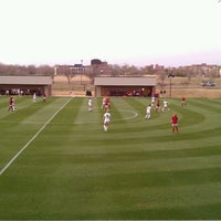 Photo taken at John Crain Field at the OU Soccer Complex by Brian P. on 3/29/2013