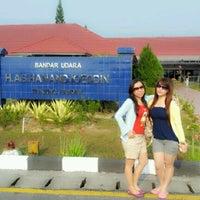 Photo taken at H.A.S. Hanandjoeddin Airport (TJQ) by Dewi P. on 9/30/2012