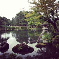 Photo taken at Kenrokuen Garden by Tatsuya S. on 7/6/2013