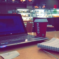 Photo taken at Costa Coffee by أحمَـــد م. on 3/20/2014