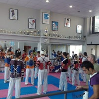 """Photo taken at Α. Σ.  ΛΑΡΙΣΑΣ  """"Tae Kwon Do"""" by Paschos L. on 8/31/2013"""