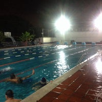 Photo taken at Escuela de Natación Don Bosco by German Andres J. on 6/11/2014
