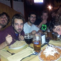 Photo taken at Pub Birreria Spaghetteria da Agostino by Tommaso P. on 9/19/2013
