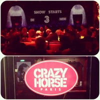Photo taken at Le Crazy Horse by Keti G. on 3/29/2014