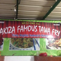 Photo taken at Pakiza Famous Tawa Fry by Prakash A. on 10/14/2013